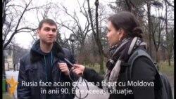 Ruşi şi ucraineni din Moldova despre criza din Crimeea