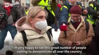 Navalny's Lawyer Detained During Live Interview