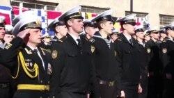 Колишні севастопольські курсанти стали офіцерами українського флоту