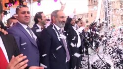 Pashinian Joins Celebrations In Yerevan