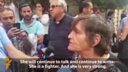 """Jailed Journalist's Mother: """"Khadija Won't Stop"""""""