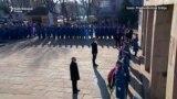 Putin na Groblju oslobodilaca Beograda