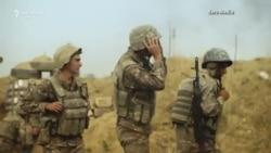 Imagini video din prima linie a războiului armeano-azer din regiunea Nagorno-Karabah