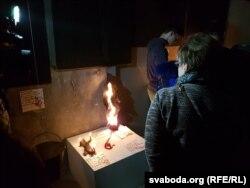 Аўганская інсталяцыя арт-дызайнэра Сяргея Шылы