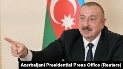 Илхам Алиев.