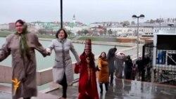 Камал театры 110нчы сезонын флешмоб оештырып ачты