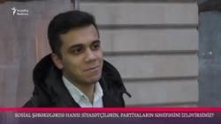Sosial şəbəkələrdə hansı siyasətçilərin, partiyaların səhifəsini izləyirsiz?