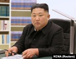 Kim Dzsongun minden lakosnak levelet küldött 2020. december 31-én.