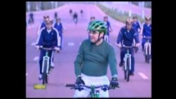 Turkmen Leader Gears Up For National Cycling Campaign