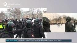Жесткие задержания в Москве и Санкт-Петербурге: как это было