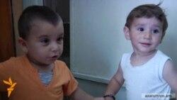 Փոքրիկ Նորայրն ու իր ընկերը ծնվել եւ ապրում են բանտում