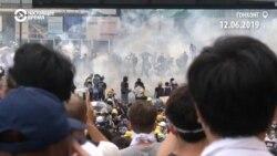 Многотысячные протесты в Гонконге против закона об экстрадиции в Китай