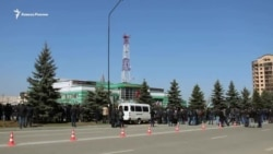 Тысячи людей протестуют в Ингушетии