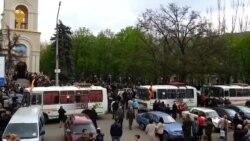 Славянск – похороны погибших