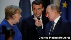 Попытка диалога на Парижской встрече «нормандской четверки», 10 декабря 2019 года