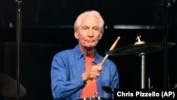 Bateristi i ndjerë i grupit Rolling Stones, Charlie Watts.