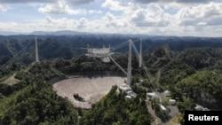 رصدخانه آرسیبو در سواحل شمالی پورتو ریکو