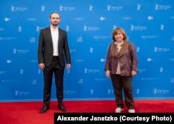 Аляксей Палуян і Сьвятлана Алексіевіч на Бэрлінале