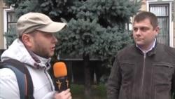 Петр Офицеров – шествие оппозиции в Москве