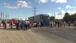 Трасса М-5 в Тольятти блокирована