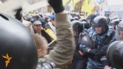 Бархӯрди ҷонибдорони Тимошенко бо нерӯҳои пулис