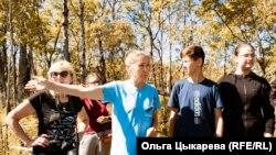 Римма Андронова руководит спасателями черепашек