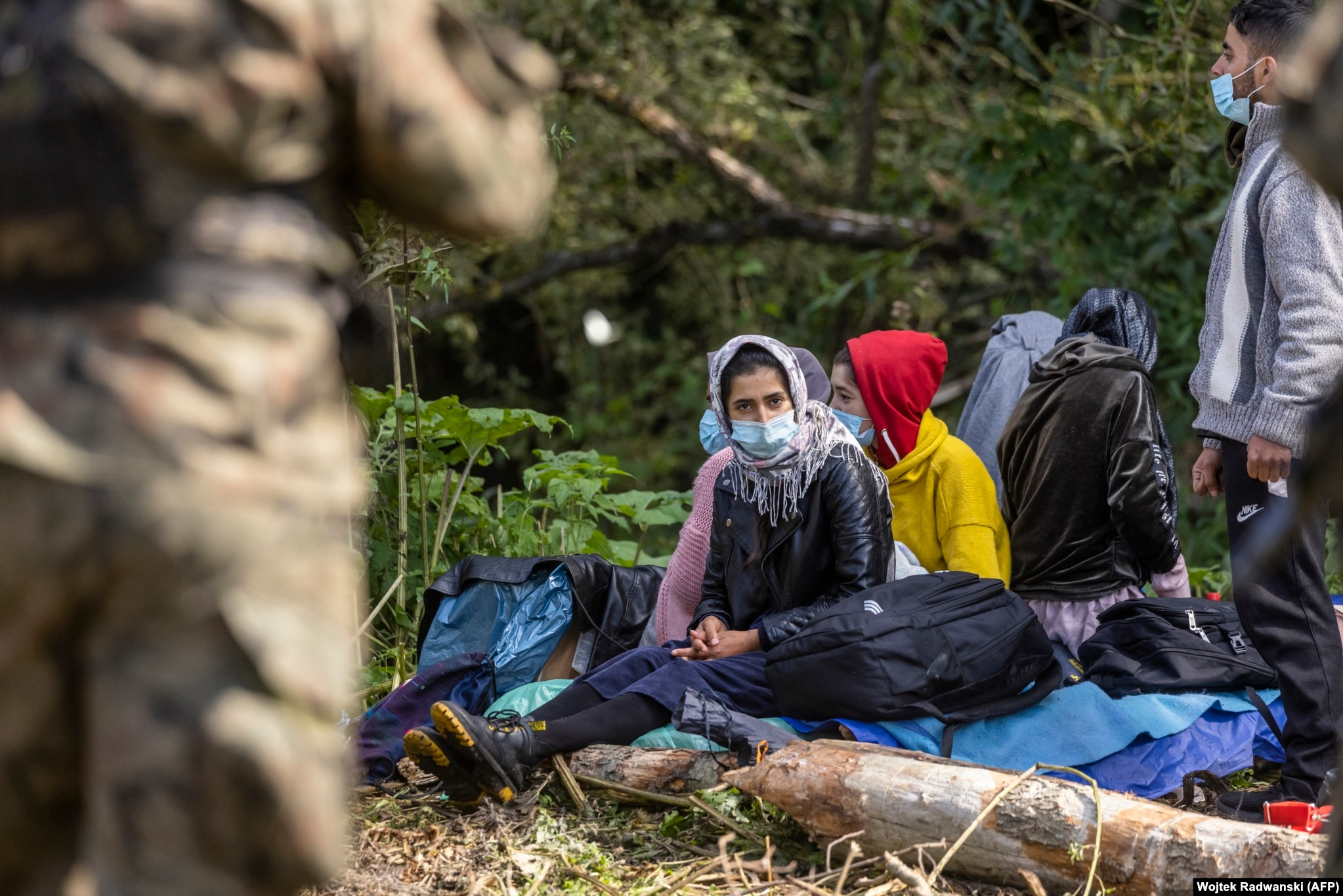 """The United Nations refugee agency, the UNHCR, has urged Poland to take in the stranded migrants, saying, """"While we acknowledge the challenges posed by recent arrivals to Poland, we call on the Polish authorities to provide access to territory, immediate medical assistance, legal advice, and psychosocial support to these people."""""""
