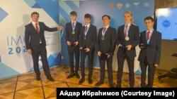 Халыкара математика олимпиадасында җиңгән Русия такымы