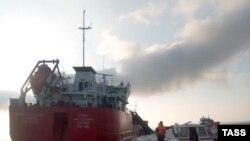 ЧП на нефтяном танкере «Генерал Ази Асланов» в Азовском море