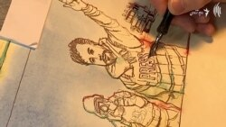 کارکرد الیاس داعی سوژه یکی از نقاشان چیره دست جهان.