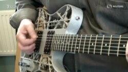 3D принтер жасаған гитара