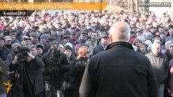 У Харкові втретє мітингували авіабудівники – вимагали виплатити зарплату