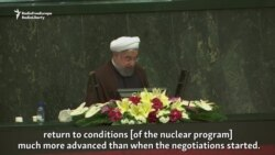 Rohani Says Iran Ready To Restore Nuclear Program If U.S. Persists