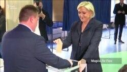 У Франції кандидати на посаду президента проголосували на своїх виборчих дільницях (відео)