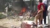 პაკისტანი: ბიჭის სიკვდილით განრისხებულმა ხალხმა პოლიციის განყოფილებას ცეცხლი წაუკიდა