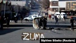 Pamje nga Johanesburgu, kryeqyteti i Afrikës së Jugut.