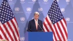 Kerry Hails Power Of Diplomacy In Release Of Americans And Lifting Of Iran Sanctions