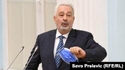 Црногорскиот премиер Здравко Кривокапиќ