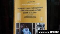 Андрей Иванец, «Община этнических украинцев Крыма в условиях российской оккупации по состоянию на 2020 год»