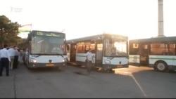 Хуҷанд соҳиби 25 автобуси нав шуд