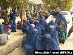 بیجا شدن خانوادهها در نتیجه افزایش حملههای طالبان در ولایت تخار