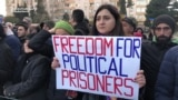 Protest Rally In Baku Calls For Release Of Political Prisoners