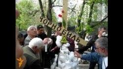 Мітинг чорнобильців біля Верховної Ради і Кабміну