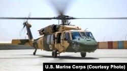 Афғонистондан қочган пилотларнинг айримлари Ўзбекистонга UH-60 Black Hawk вертолётларида (суратда) учиб келишган