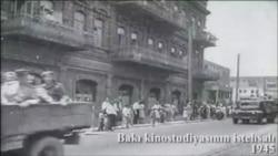 1945-ci il 9 may: Bakı qalibləri qarşılayır