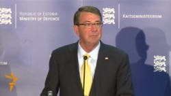 U.S. Defense Secretary Announces Tanks For Eastern Europe