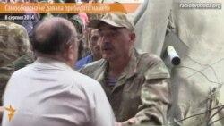 Лише з боями вдалося прибрати деякі намети на Майдані