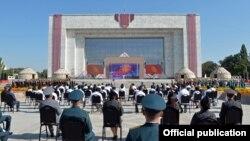 Празднование 29-летия независимости Кыргызстана. 31 августа 2020 года.