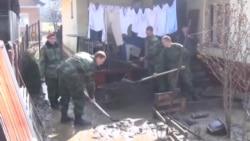 Čišćenje nakon poplava u Novom Pazaru