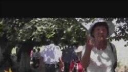 Нааразылыкка чыккандарды милиция кармап кетти